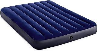 com-four® Colchón de Aire para Dos Personas - Cama de Aire - colchón Inflable para Camping y huéspedes - colchón de Invitados - 191 x 137 x 25 cm - hasta 273 kg (El 191x137x25cm)
