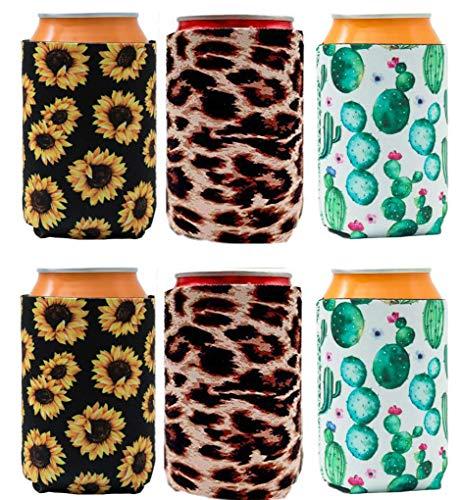 Manicotti in neoprene per birra vuote per bottiglie di birra, 340 ml, per bibite analcoliche, economiche, pieghevoli, ideali per barbecue, matrimoni e feste Set-603.