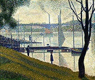 Bridge at Courbevoie by Georges Seurat - 20