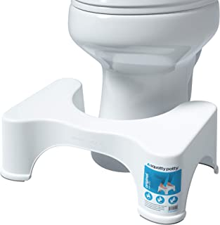 "Squatty Potty The Original Bathroom Toilet Stool, 7"" height, White"