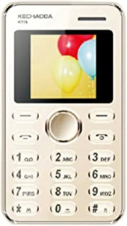 Kechaoda K116 QQVGA Display Mobile Phone - 8GB, Gold