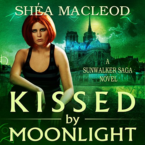 Kissed by Moonlight audiobook cover art