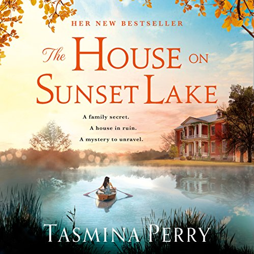 The House on Sunset Lake audiobook cover art