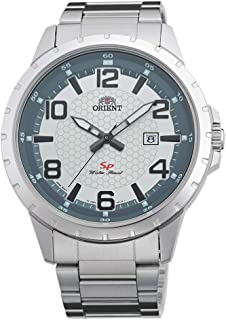 Orient Mens Quartz Watch, Analog Display and Stainless Steel Strap FUNG3002W0