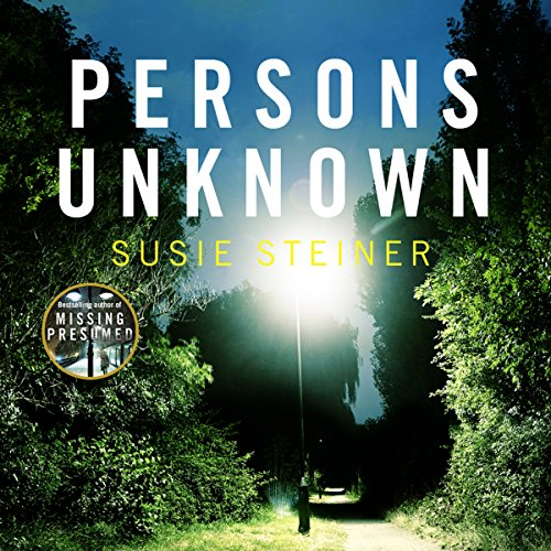 Persons Unknown audiobook cover art