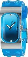 ساعة يد سيليكون بميناء متدرجة اللون انالوج بعقارب للنساء من جس - I50353L5