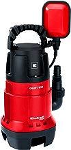Einhell GC-DP 7835) - Bomba de aguas sucias, 780W, capacidad de 15.700 l/h, profundidad max. de inversión 7m
