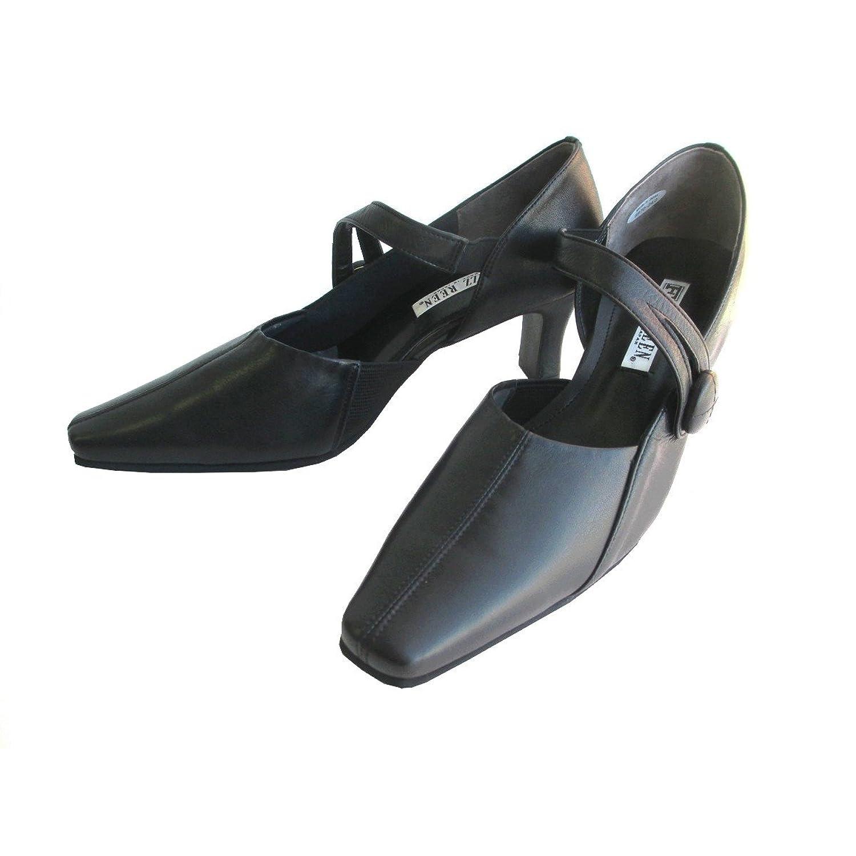 [フィズリーン] FIZZREEN fizzreen 8970 レディース パンプス 牛革 甲ベルト 仕事靴