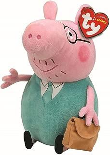 Pelúcia Papai Peppa Pig Ty! 28cms Original