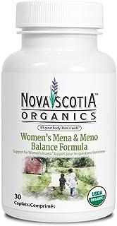 Organic Womens Mena & Meno Balance Formula (30 caplets), organic, vegan, vegetarian, menopause, menapause pms, dong quai, ...