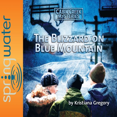 Blizzard on Blue Mountain audiobook cover art