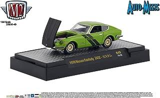 M2 Machines 1:64 Auto Meets Release 49 1970 Nissan Fairlady Z432 Green