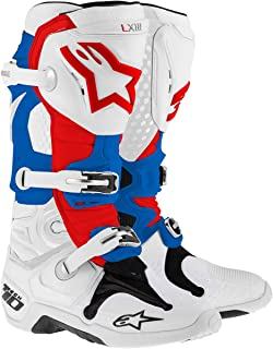 Alpinestars Tech 10 - Botas de motocross, color negro