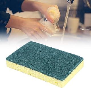 Esponja para lavar platos con aceite antiadherente, esponja de cocina duradera, alta calidad para lavar ollas para lavar platos