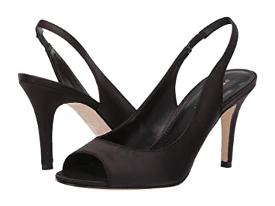 Pelle Moda Rocia (Black Satin) Women