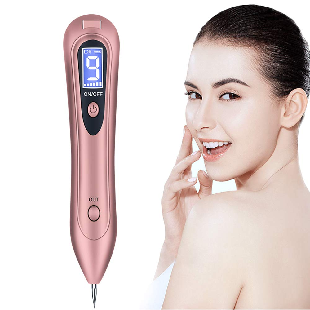 Mole Removal Pen Skin Tag Remover Kit With 9 Adjustable Modes Plasma Pen For Dark Spot Tattoo Wart Nevus Freckles Romove Lcd Display Usb Charging Buy Online In Gambia Missing
