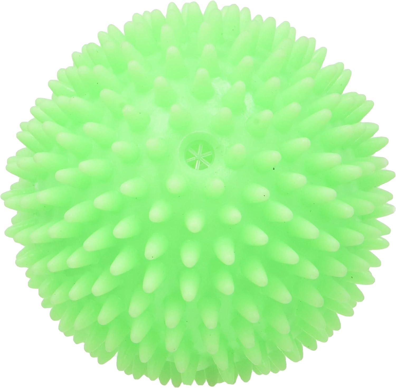 Croci Vinyl Toy Hedgehog Ball Juego para Perros en Vinilo Pelota Rizado, 8 cm, 1 Unidad (Paquete de 1)