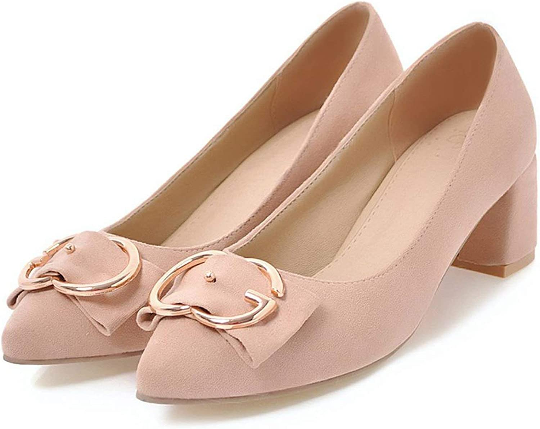 FINDYOU Autumn Women shoes Pointed Toe Pumps Suede Leisure Dress shoes