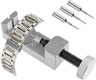 Kit Montre Bracelet Lien Pin Remover Chasse Goupille Montre Kit de Réparation d'Outils, Kit Montre demontage, Kit Reparati...