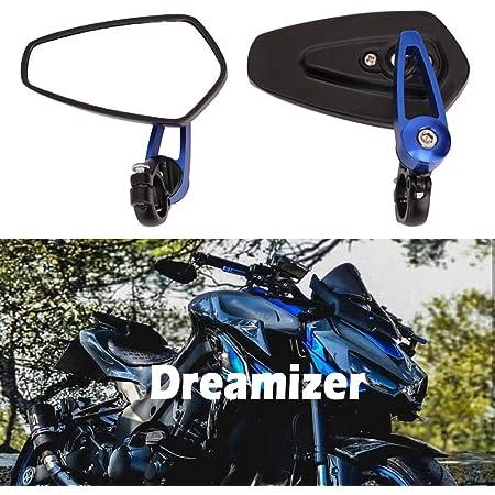 Dreamizer 7 8 22mm Motorrad Lenkerend Spiegel Motorrad Rückspiegel Für Duke 790 690 390 125 Z1000 Er6n Er6f Ducati Monster M696 821 Mt03 Mt09 Fz6 Auto