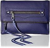 Rebecca Minkoff Small Regan - Bolso bandolera, color Azul, talla Einheitsgröße