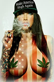 Make America High Again by Daveed Benito Cool Huge Large Giant Poster Art 36x54