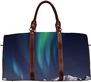 Travel Luggage Duffle Bag Lightweight Portable Handbag Misty Tree Large Capacity Waterproof Foldable Storage Tote