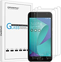 (3 Pack) Orzero for Asus ZenFone V Live (Verizon), V500KL Tempered Glass Screen Protector, 2.5D Arc Edges 9 Hardness HD Anti-Scratch (Lifetime Replacement)