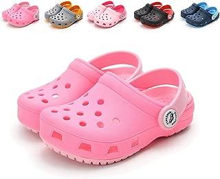 E-FAK Toddler Kids' Boys Girls Clogs Garden Shoes Slip On Lightweight Summer Sandals Beach Slippers Water Shoe
