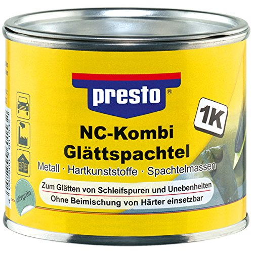 Presto 601532 NC-Kombi Glättspachtel, 250 g