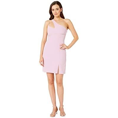 Laundry by Shelli Segal One Shoulder Cocktail Dress (Lilac) Women