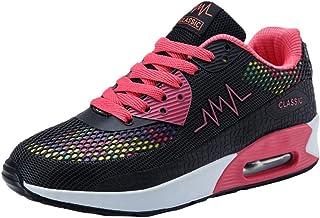 Femmes Baskets Mode Chaussures De Sport Running Marche Plate-Forme éTé Pas Cher Chic Mesh Respirant Absorbant Les Chocs Ch...
