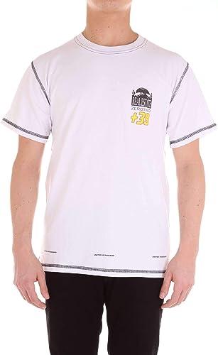 UNITED STANDARD Homme 18SBTS09blanc Blanc Coton T-Shirt