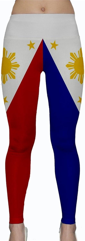 WorldX Womens Philippines Flags Yoga Leggings