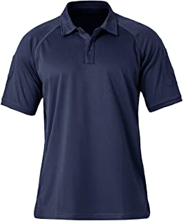 TACVASEN Men's Polo Shirts Short Sleeve Summer Quick-Dry Golf Polo T-Shirts