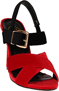 Red Pout Women Red Sandals