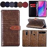 QHTTN Muster Premium Gold Leder Tasche Hülle Für Elephone S1 5