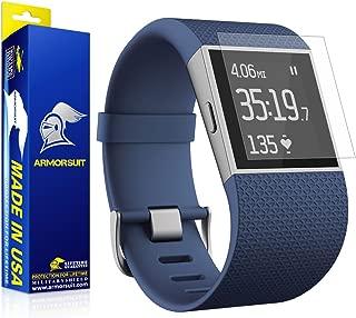 ArmorSuit Fitbit Surge Fitness Anti-Glare Screen Protector (2 Pack) Full Coverage MilitaryShield Screen Protector for Fitbit Surge Fitness - Matte Anti Bubble Film