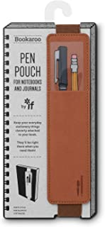 IF- Bookaroo Pen Pouch for Books- Brown