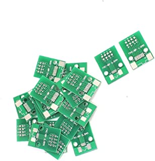 PULABO 面白いFPC/FFC-8P PCBアダプターFPC/FFC DIP 8 0.5 mm / 1.0 mm SMD IC 20ピースクリエイティブで心込み作られた、絶妙なクラフト