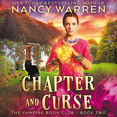 Chapter and Curse: A Paranormal Women's Fiction Cozy Mystery cover art