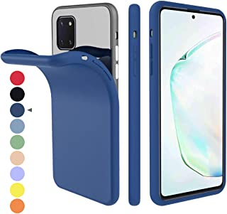 BOWFU para Samsung Galaxy A20e Funda,【Silicona Suave TPU Bumper】【Transparente Duro PC】【Anillo de Metal Integrado】 Hybrid Cover para Samsung Galaxy A20e-Negro