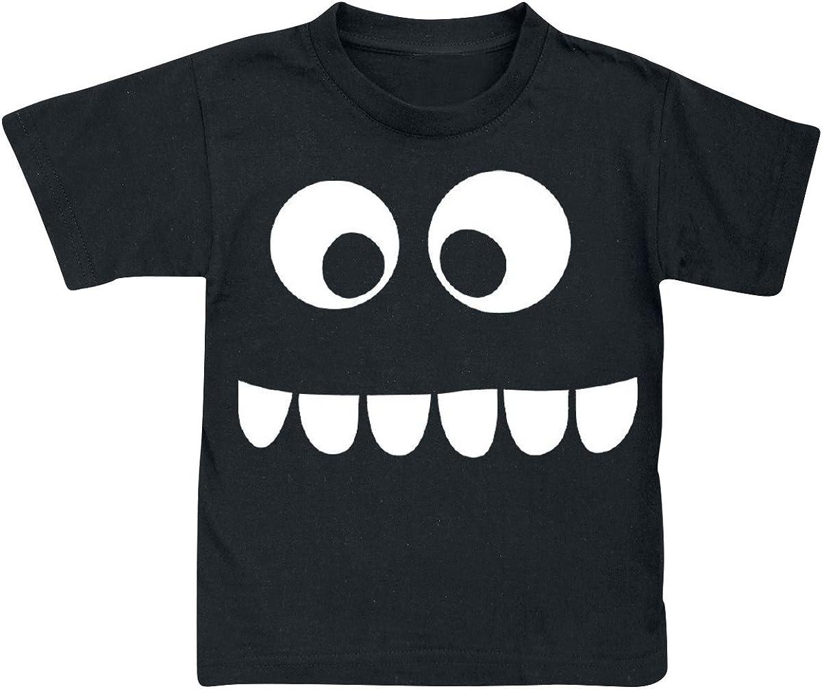 Regular Effekte//Besonderheiten Grumpfi Leuchtet im Dunkeln Gumpfi Brilla en la Oscuridad Unisex Camiseta Negro,