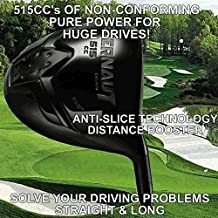 Oversize Offset Draw Anti-Slice Non-Conforming Long Illegal Monster 515cc Custom Golf Driver