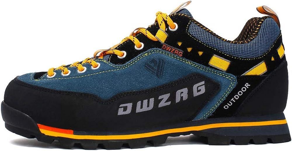 SZMYLED - Zapatillas de senderismo antideslizantes para ...
