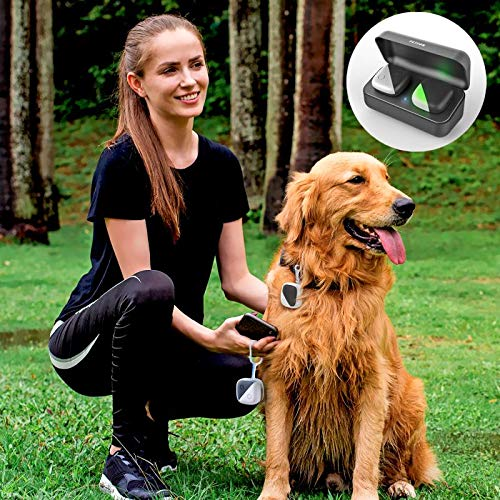 Pet GPS Tracker for Dogs Cats,No Monthly fee, Real-Time Tracking Device for Multiple Pets(Tracker+Controller)