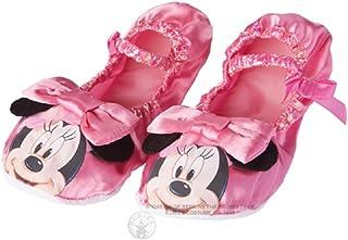 Rubies 's–Oficial Minnie Mouse zapatillas, niño disfraz–Un tamaño, rosa