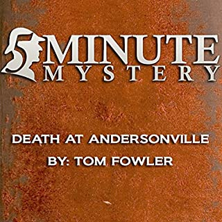 5 Minute Mystery - Death at Andersonville cover art