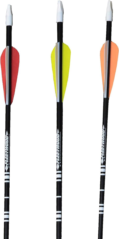 Regular discount Fleetwood Fiberglass 5 ☆ popular Arrows w Pack 6 Vanes