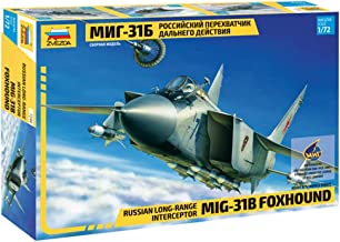 Mig-31B Foxhound Russian Long-range Interceptor 1/72 Zvezda